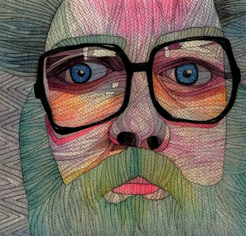 Artwork by Ani Saunders. Gwaith Celf gan Ani Saunders