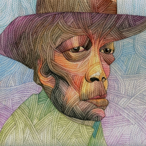 John Lee Hooker by Ani Saunders